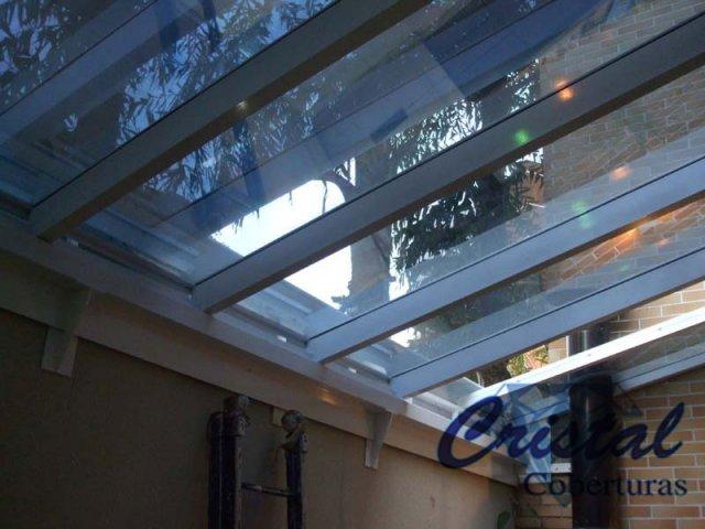 Cobertura em Vidro - Área Lateral 1
